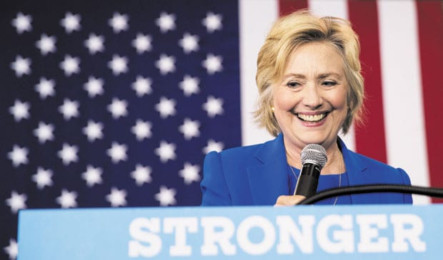 We stand with Hillary