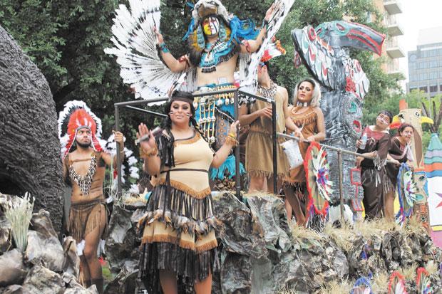 Pride on parade