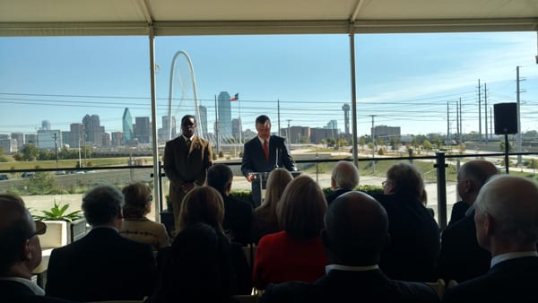 Dallas receives $50 million for Trinity park
