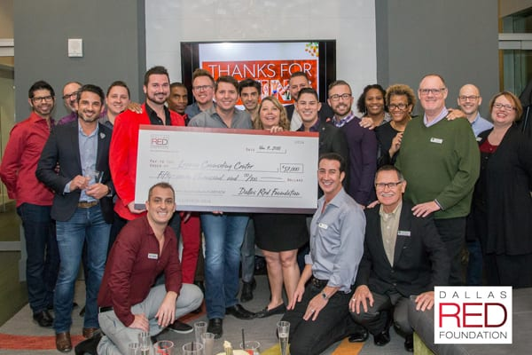 Dallas Red Foundation makes record donation to Legacy Counseling