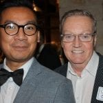 RafiQ Salleh and Cannon Flowers were celebrating their 20th anniversary