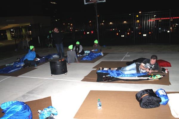 Promise House sleep out raises awareness and funds