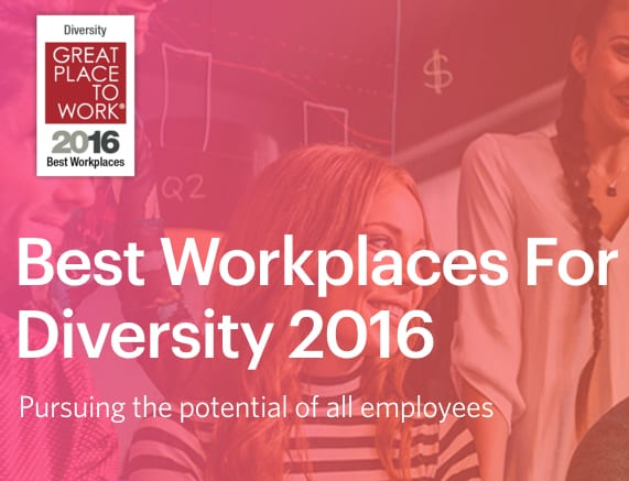 Best Places to Work for Diversity has extremely odd winner