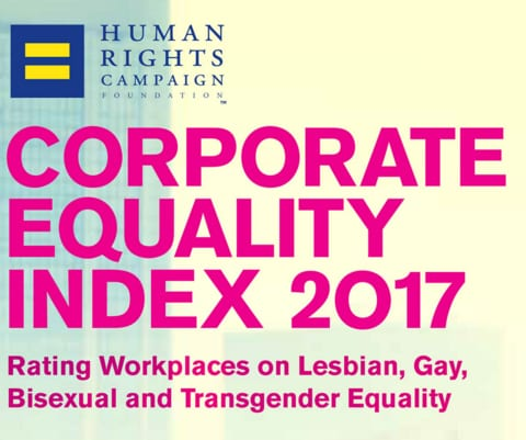Record number of companies score 100 on new Corporate Equality Index