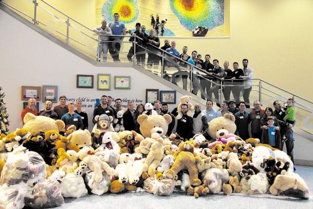 Teddy Bears help children get through surgery