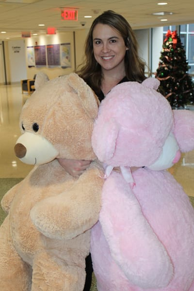 Party collects 1,300 teddy bears