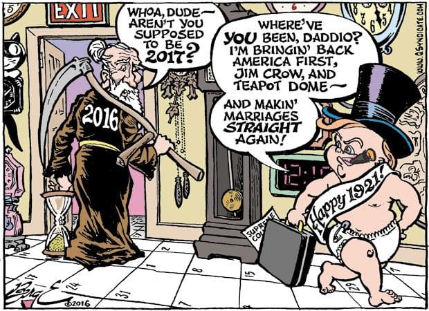 Editorial Cartoon • 12-23-16