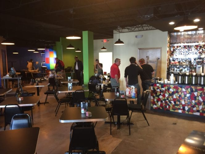 Cafe Brazil on Cedar Springs has re-opened in its new space