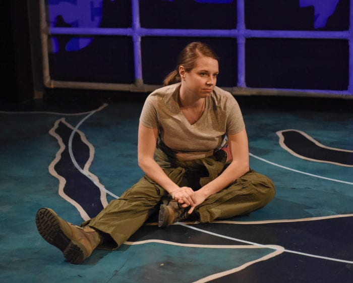 STAGE REVIEW: 'Grounded'