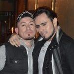 On the Strip - Robert and Juan