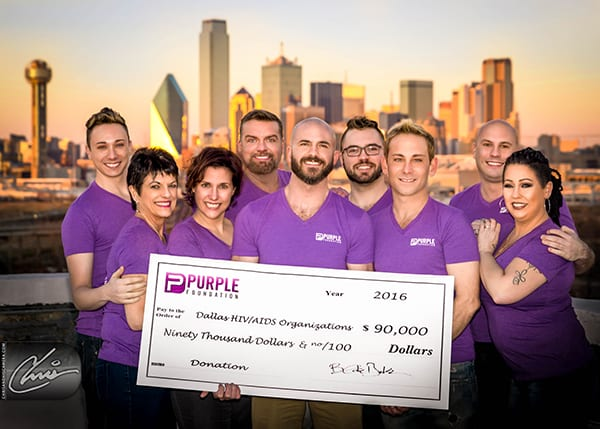 Purple Foundation: 2016 was record year