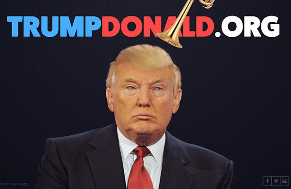 Trump Donald!