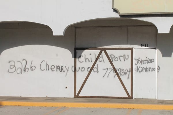 UPDATE: Similar graffiti found blocks from Cathedral of Hope