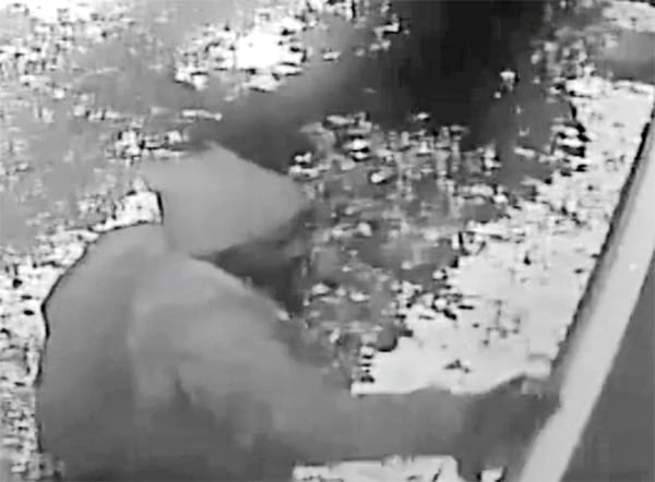 DPD releases video of suspect in CoH graffiti incident