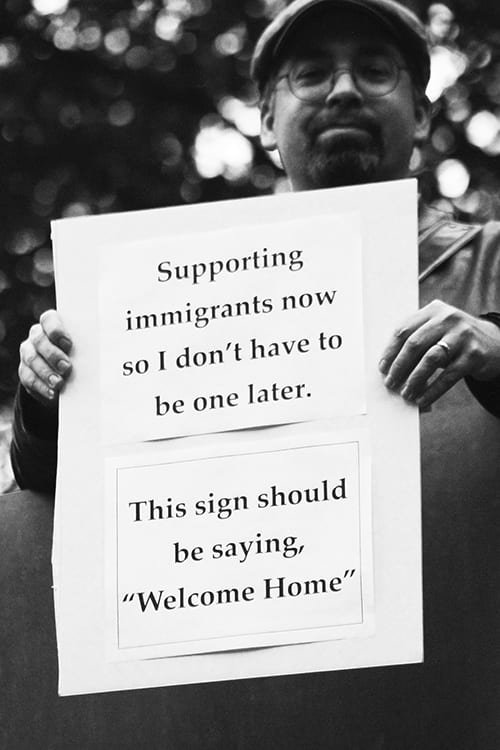 Immigration-Sign