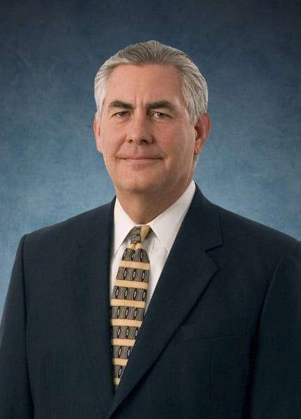 Homophobic Exxon CEO confirmed as Secretary of State