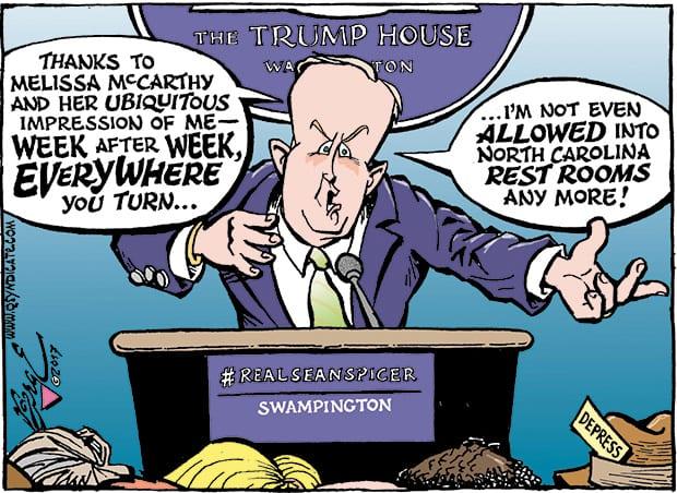 Editorial Cartoon • 02-17-17