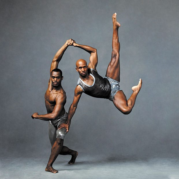Alvin-Ailey-American-Dance-Theater's-Jamar-Roberts-and-Glenn-Allen-Sims.-Photo-by-Andrew-Eccles