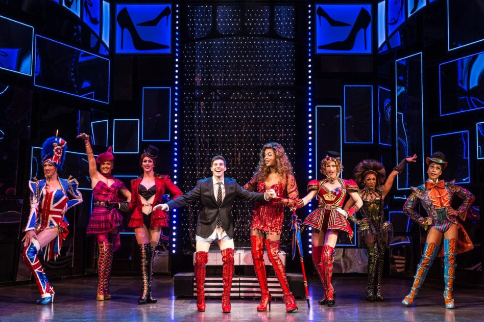DSM gives at-risk teens a behind-the-scenes look at 'Kinky Boots'
