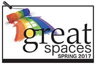 Great Spaces Logo bug