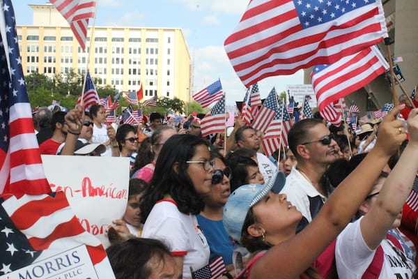 Thousands march for immigration reform