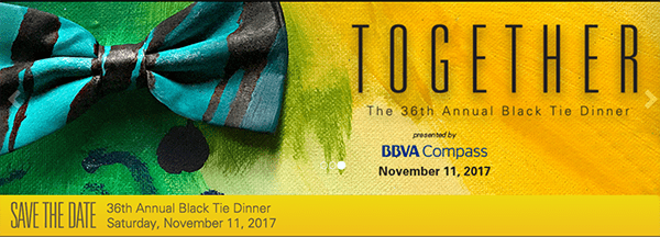"""Black Tie theme: Come """"Together"""" in 2017"""