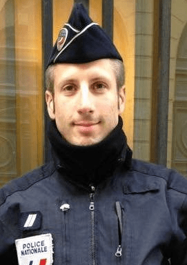 VIDEO: Murdered Paris policeman's husband preaches love, tolerance