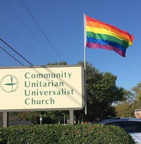 Pride flag stolen from Unitarian Church in Plano