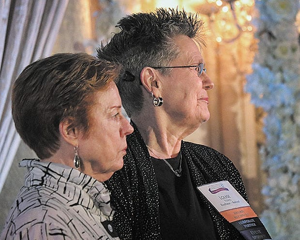 Chamber honors Armstrong and Young