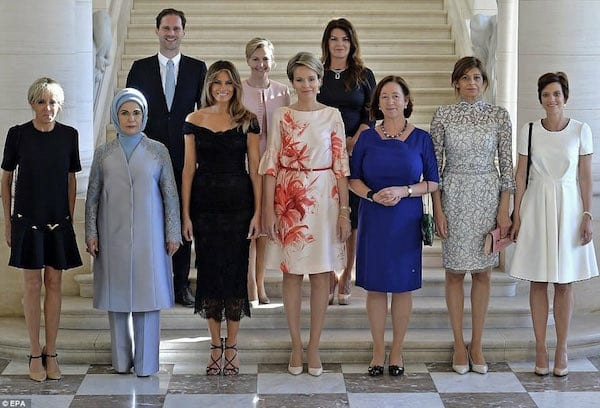 Luxembourg's gay first husband attends NATO summit with other spouses