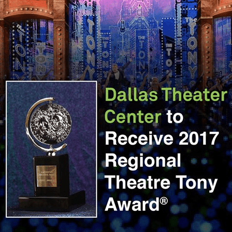 BREAKING: DTC wins Regional Theatre Tony