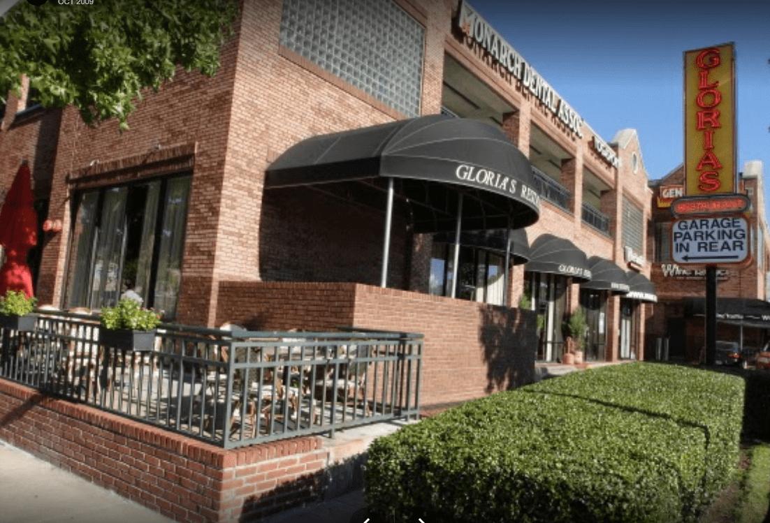 Let's hear it for Gloria's restaurants!