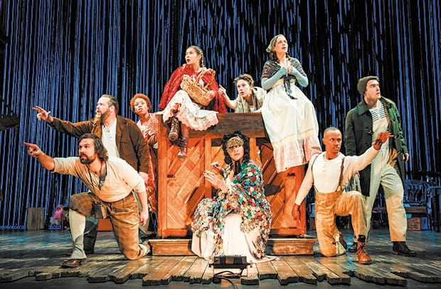 Absurdly ever after Over-the-top and 'Into the Woods:' If Stomp met Sondheim