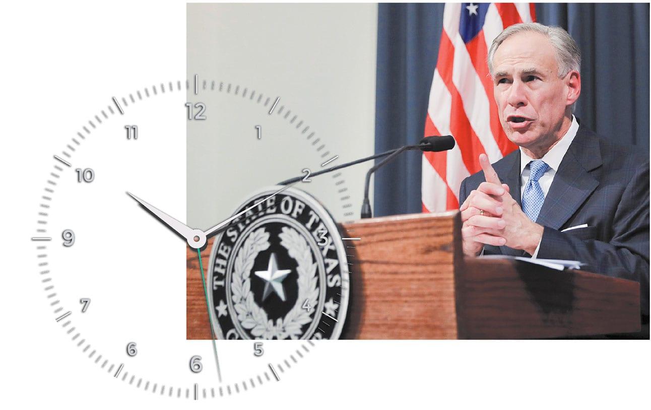 Running the clock?