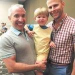 Babies-Martin-and-Tim-and-son-Gab