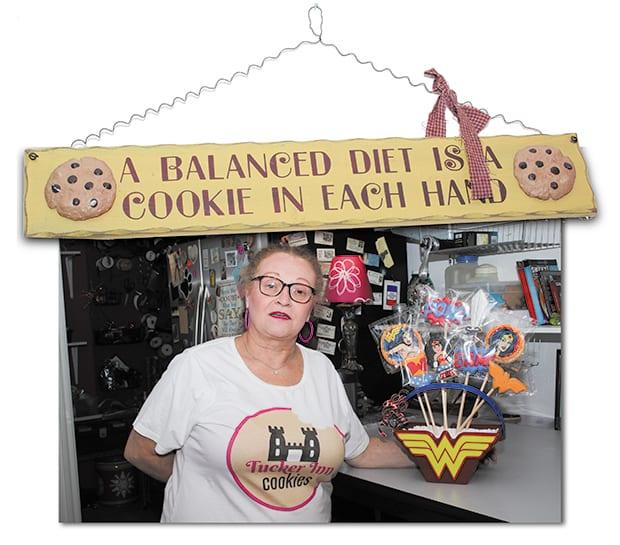 2 sharp cookies