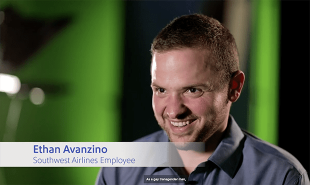 Southwest Airlines honors Pride month with video featuring gay trans man employee