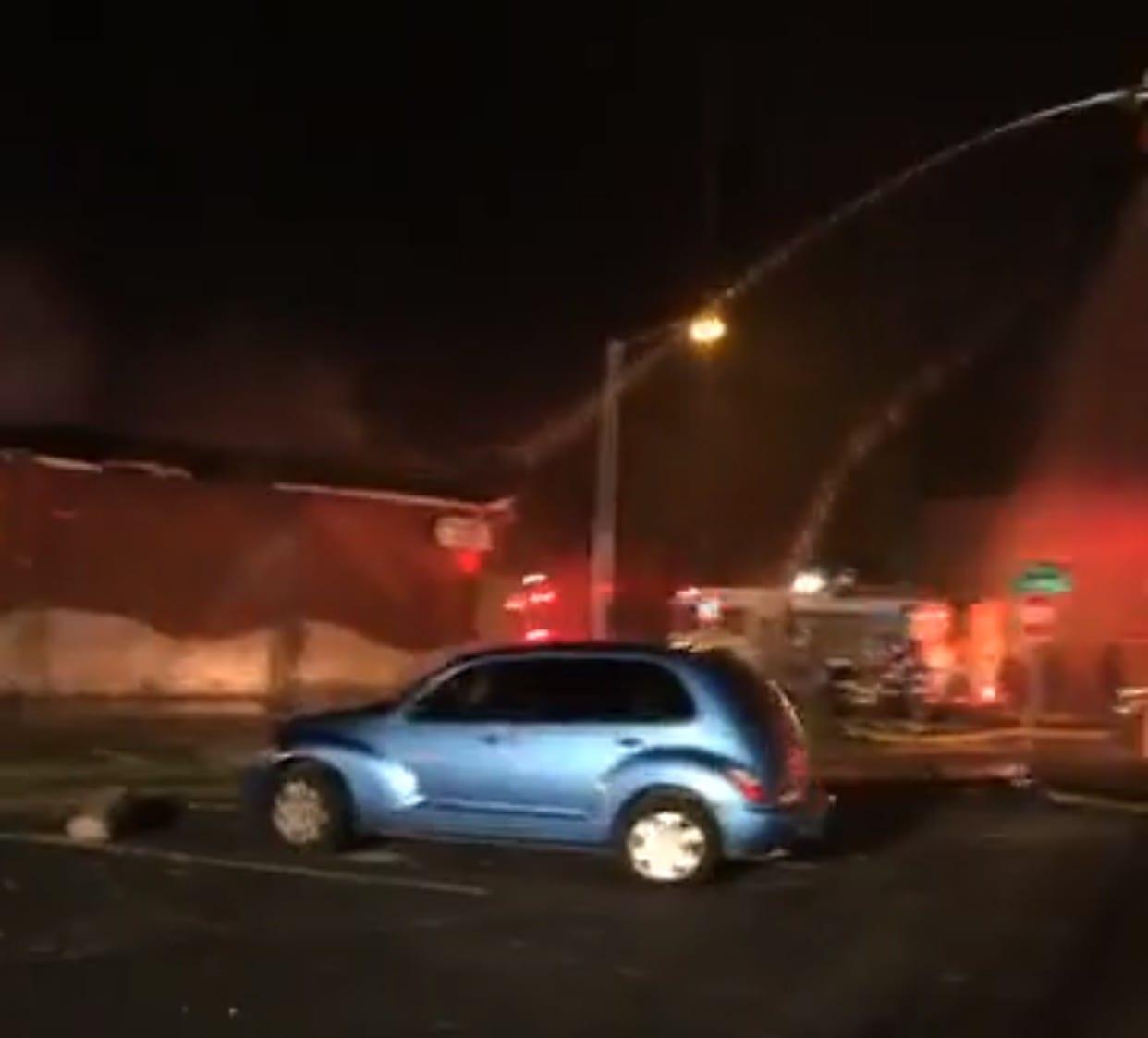 Fire destroys Rainbow Lounge