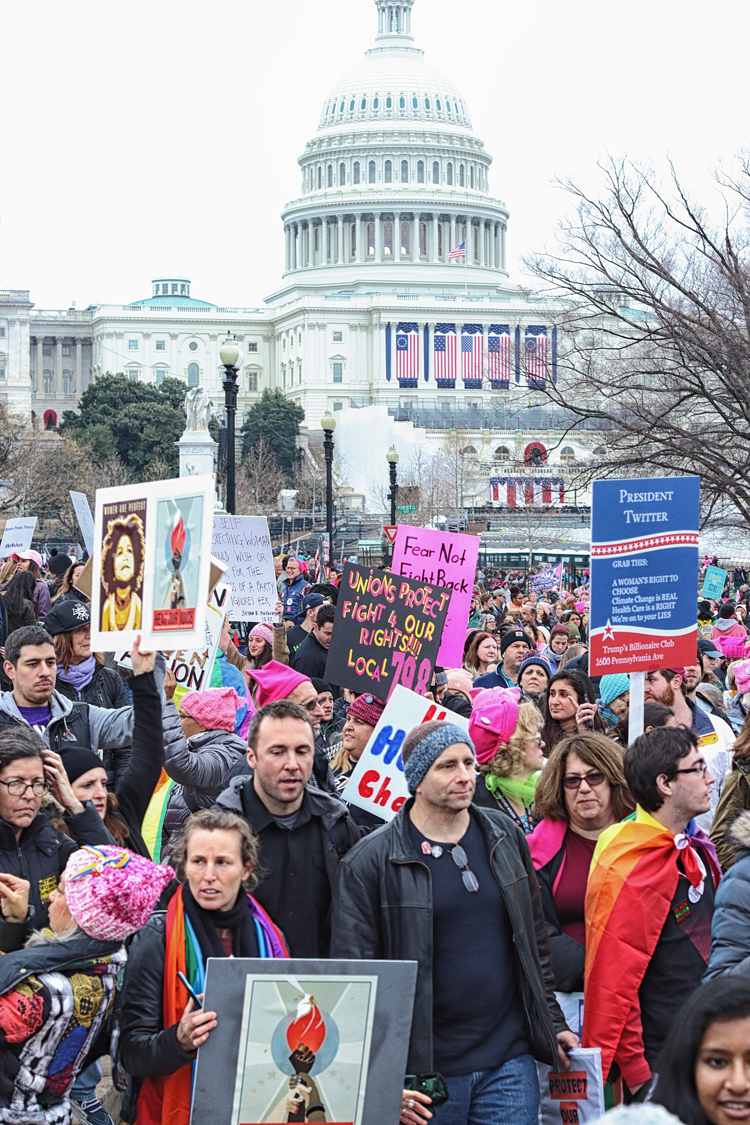Flashback: Memories of the Women's March