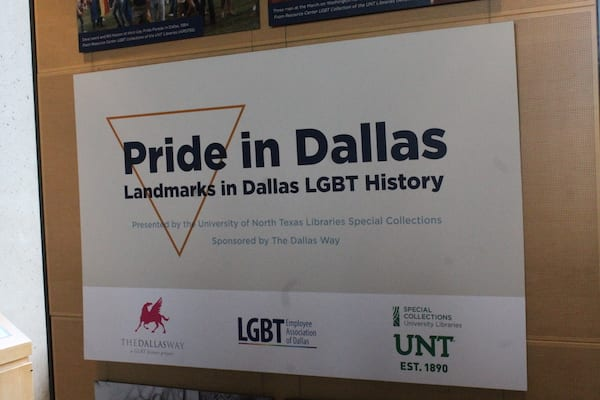 LGBT history exhibit goes on display at Dallas City Hall