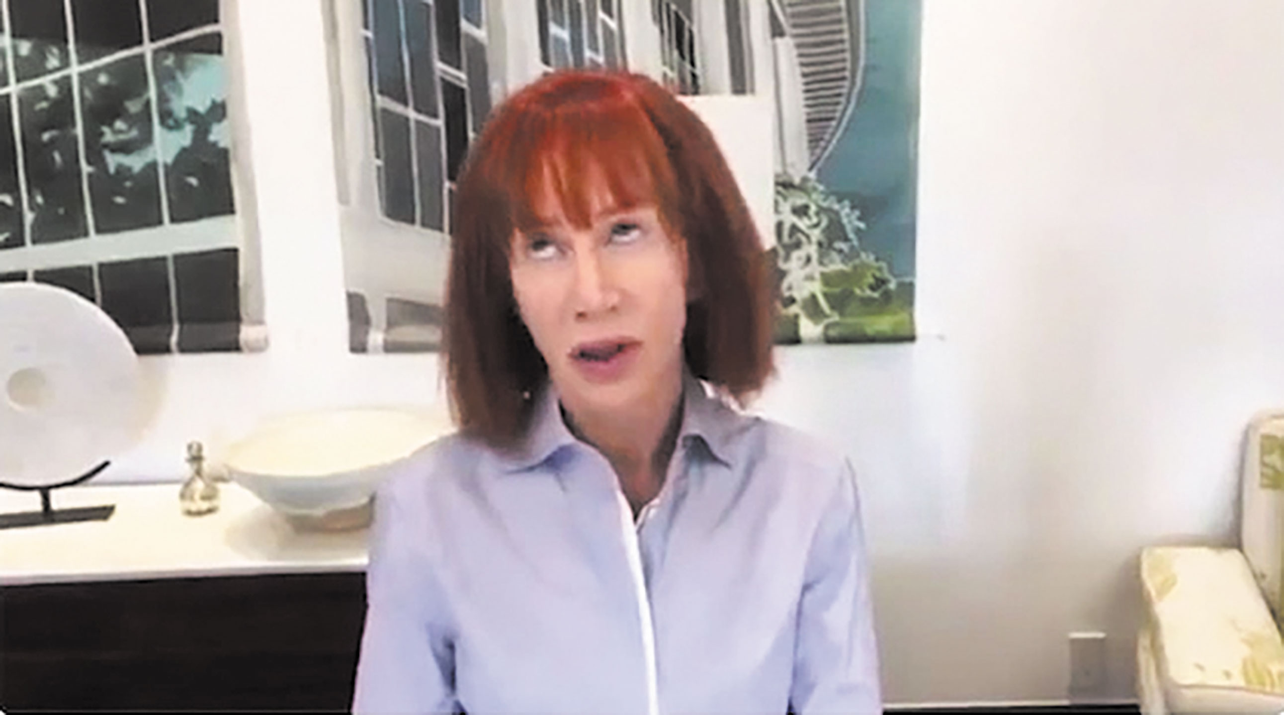 Kathy Griffin: Trump, First Family 'Personally Trying to Ruin My Life Forever'