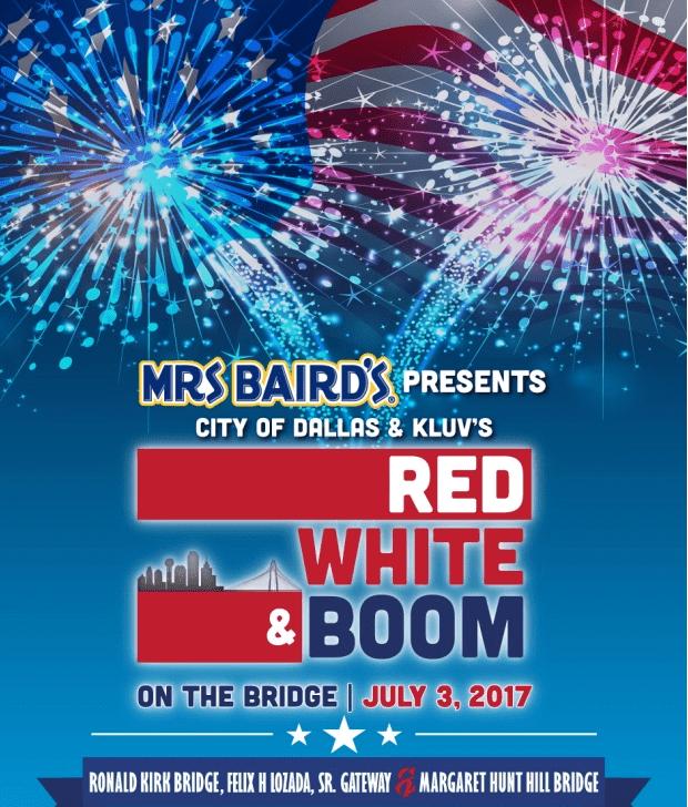 Red, White & Boom on the Bridge