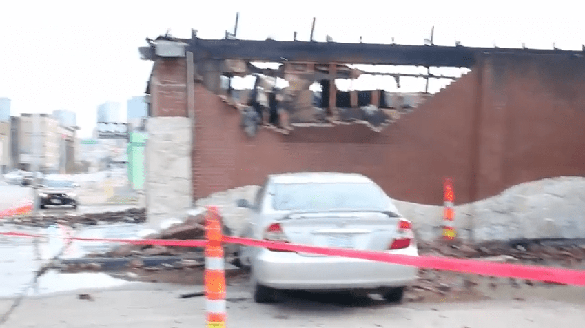 VIDEO: Rainbow Lounge fire — the aftermath