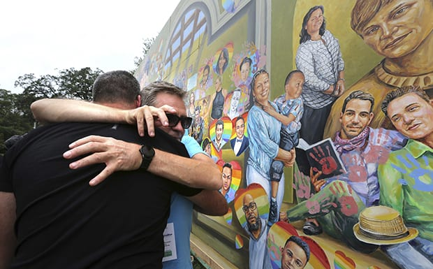 Half-staff flags, bells mark 1 year since Pulse massacre