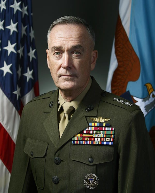 Head of Joint Chiefs announces 'no modification' of military policy