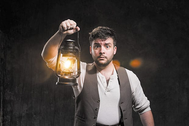 STAGE REVIEWS: 'Fiddler's Cave,' 'The Caveman Play' at FIT