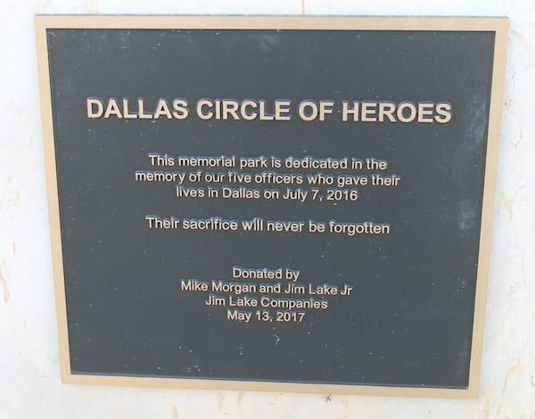 Memorial dedicated 1 year after police ambush