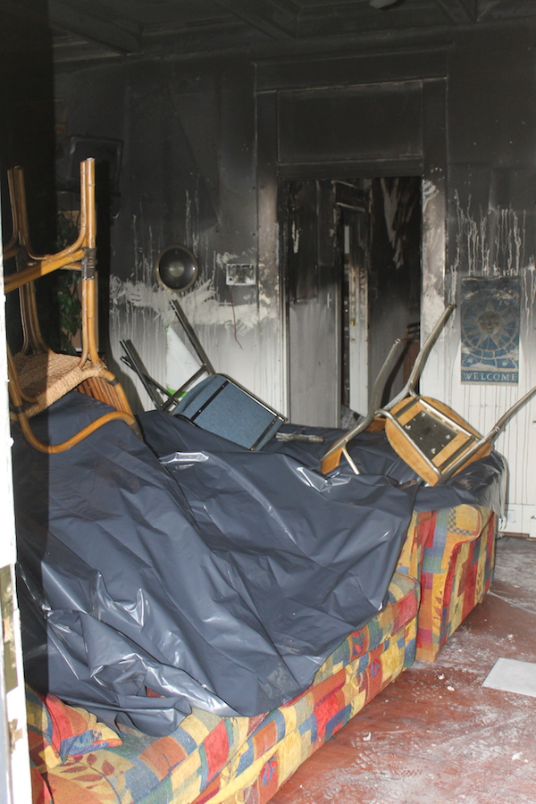 Stonewall helps AP recover from arson