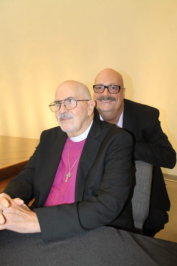 The Rev. Troy Perry visits Cathedral of Hope