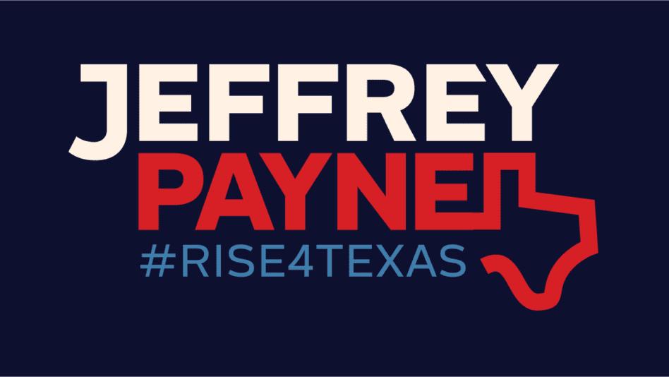 Jeffrey Payne reveals campaign logo